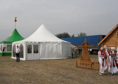 Шатер Пагода 65 м Пример 6