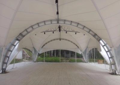 Арочные шатры-2
