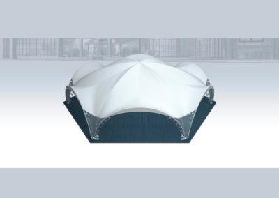 Арочный-шатер